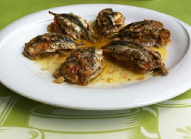 Sardines oven